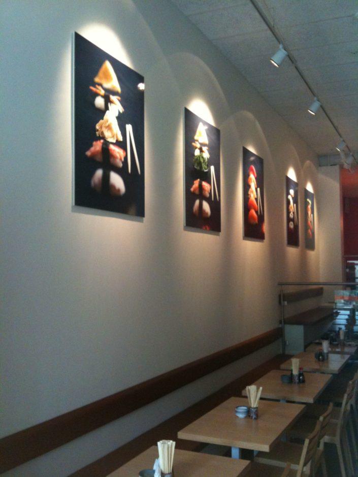 Inredning - Foto för restaurang